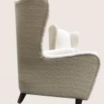 fauteuils blancs vue 1