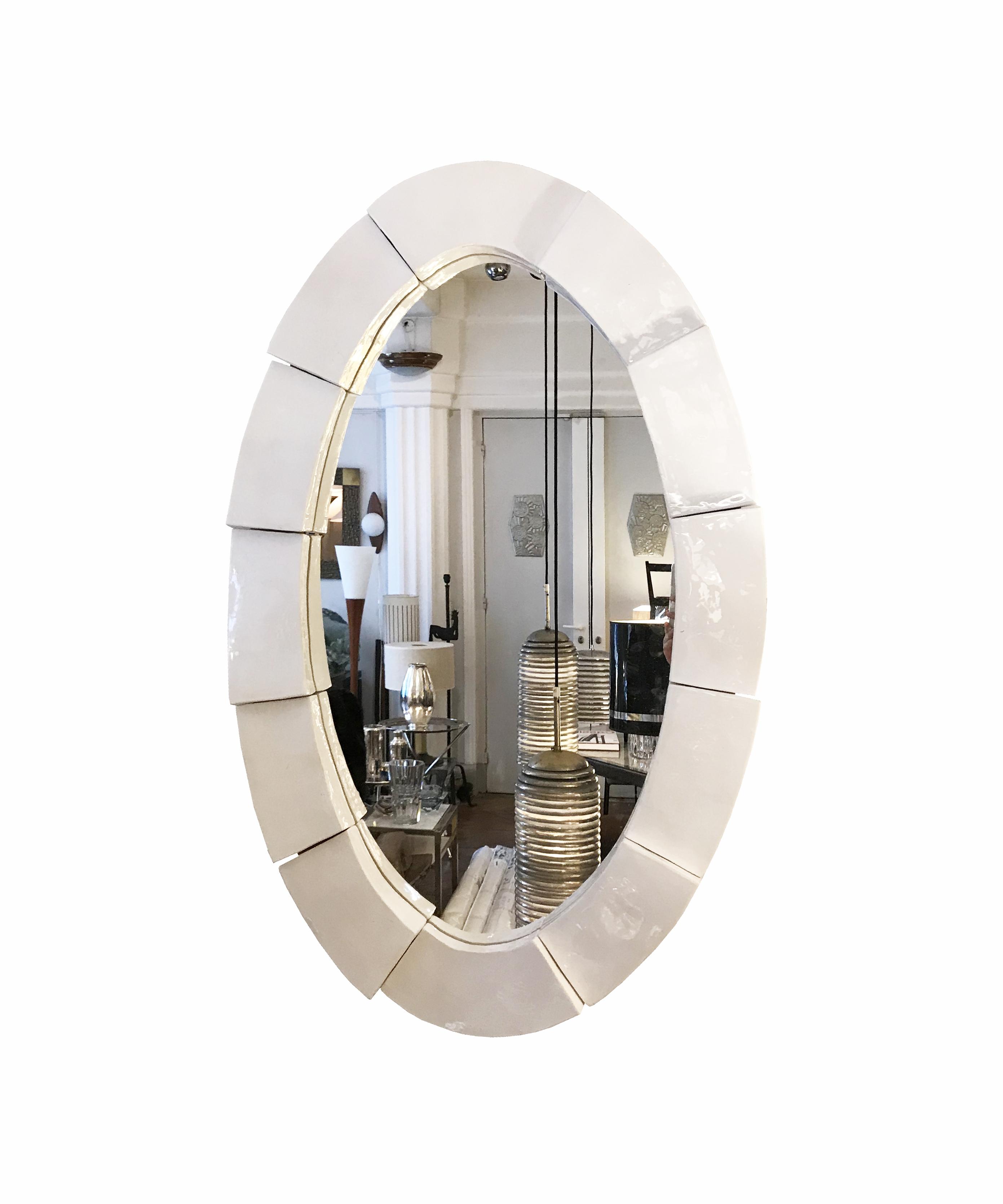 miroir en ceramique vue 3