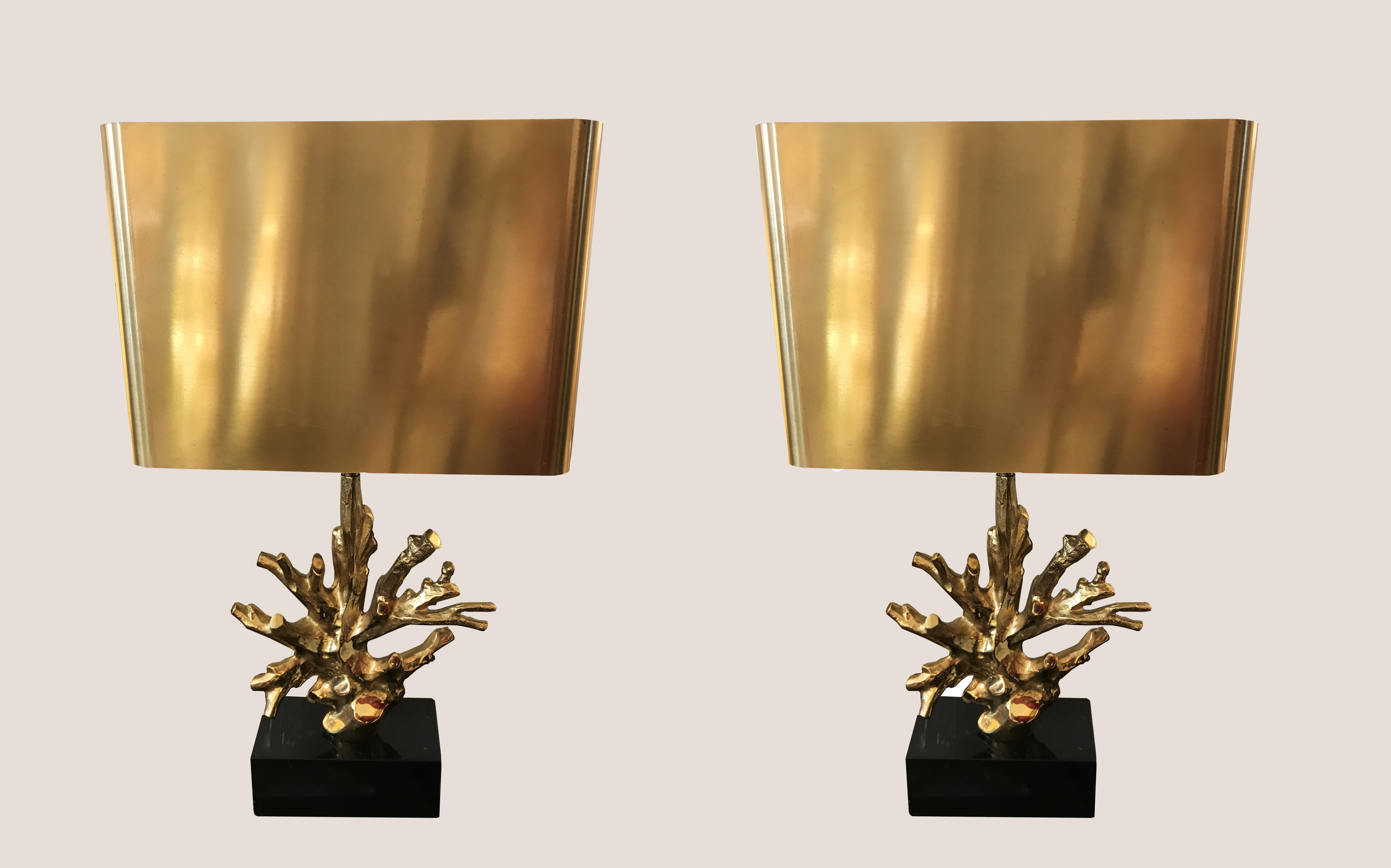 Lampe Corail Charles paire