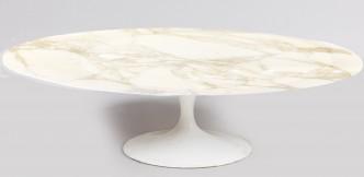 Table basse ovale Knoll 137 par 90 1