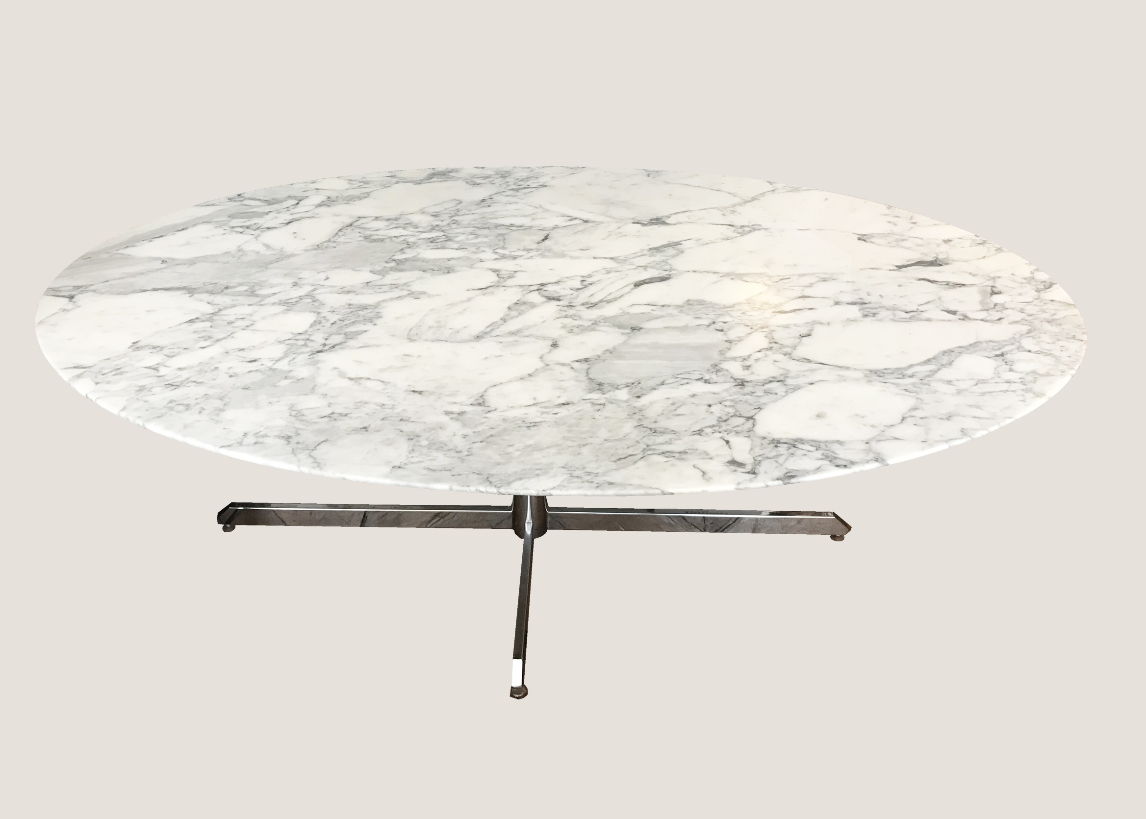 table knoll pied metal